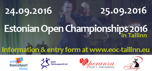 Estonian Open Championship 2016, 24.-25.sept
