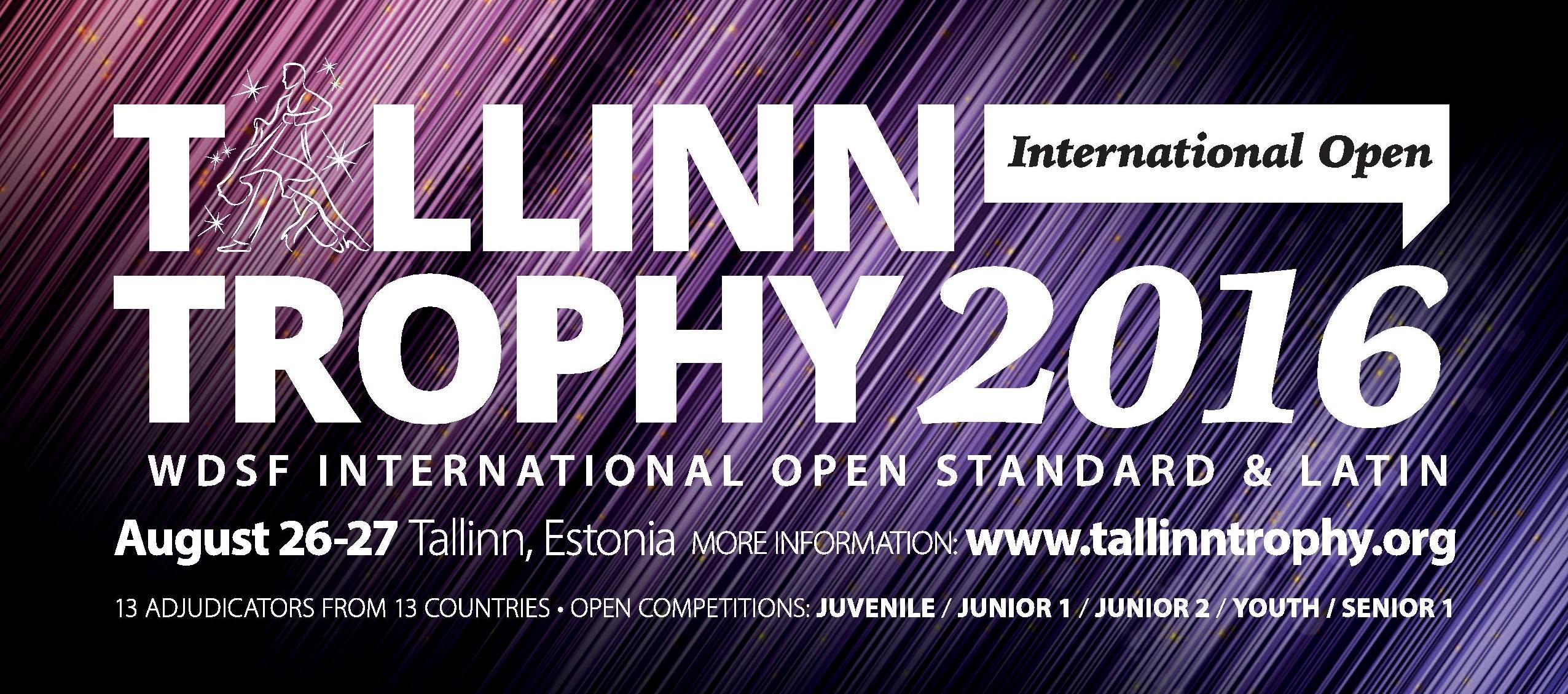 Tallinn Trophy 2016, 26.-27.aug
